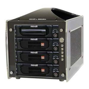 Maxell 4 Bay Storage Tower: Picture 1 regular