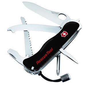 Victorinox Swiss Army Rescuetool Pocket Knife Black 54900
