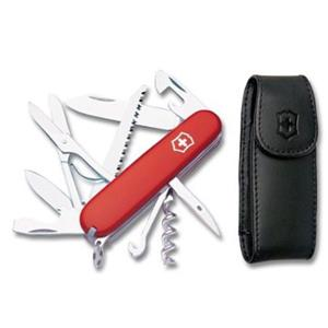 Victorinox Swiss Army Huntsman Pocket Knife With Pouch