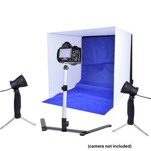 COSIB00 Adorama Photo Studio In-A-Box, Portable Studio with Soft ...