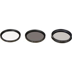 Vivitar 3-Piece 77mm UV/CPL/ND Filter Kit