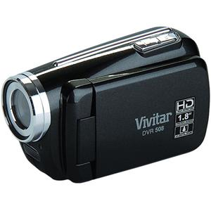 Vivitar DVR508NHD-BLK 5MP 720p 4x Digital Zoom HD Digital Video Recorder (Black)