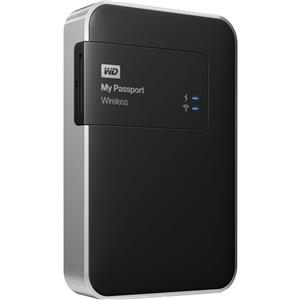 WD My Passport 1TB External USB 3.0 Wireless Portable Hard Drive - Manufacturer Refurbished + Free Carrying Case