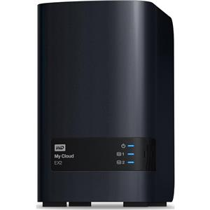 WD My Cloud EX2 Personal Cloud Storage - Black