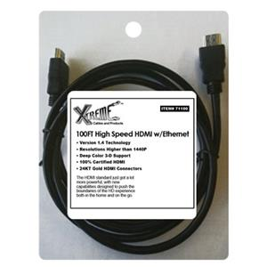 Xtreme Cables High Speed V1.4 HDMI Cable-100ft,Bulk Pckd: Picture 1 regular