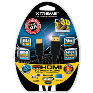 Xtreme Cables 12 Foot High Speed Mini HDMI 74012