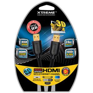 Xtreme Cables 12 Feet High Speed HDMI Cable 74112