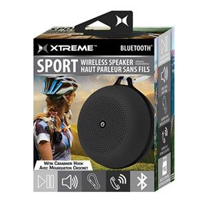 Xtreme Cables Sport Wireless Speaker with Carabiner Hook