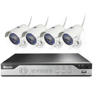 Zmodo 8-Ch 960H 4-Cam. DVR Security System