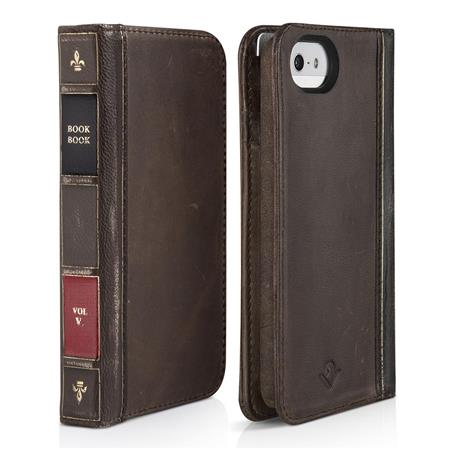 Twelve South BookBook Wallet Case for iPhone 5 5S SE 0462775879add