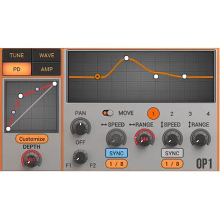 2nd Sense Wiggle Waveshaping Synthesizer Software Plug-In, Electronic  Download