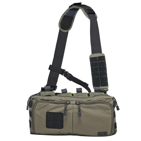 5 11 Tactical 4 Banger Bag Holds Ar Magazines Back Up Handgun Accessories Od Trail