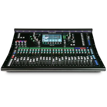 Allen Heath Sq 6 48 Channel 36 Bus Digital Mixer With 24
