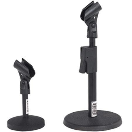 amplivox s1075 quick release adjustable desk mic stand s1075. Black Bedroom Furniture Sets. Home Design Ideas