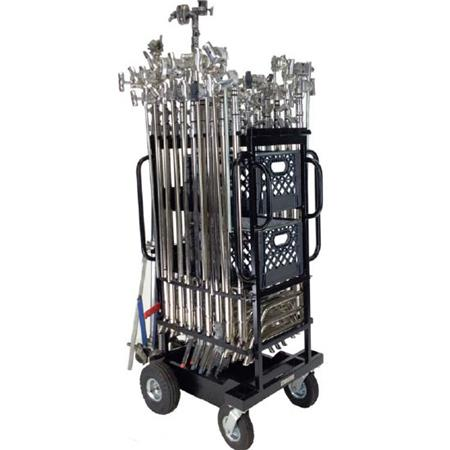 Backstage C Stand Hi Roller Utility Cart Plus 800lbs