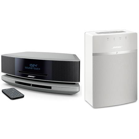 bose wave soundtouch music system iv platinum silver w. Black Bedroom Furniture Sets. Home Design Ideas