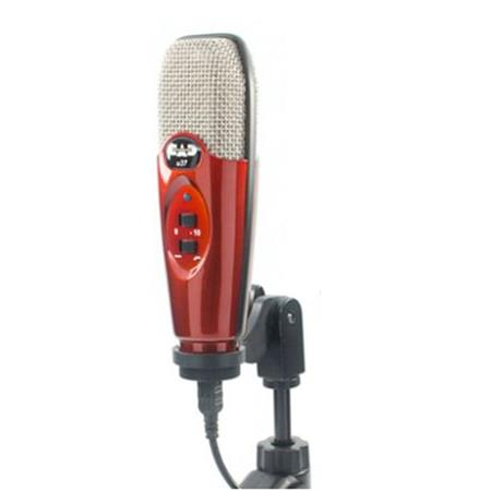 cad audio u37 usb cardioid condenser studio recording microphone apple red u37se ca. Black Bedroom Furniture Sets. Home Design Ideas
