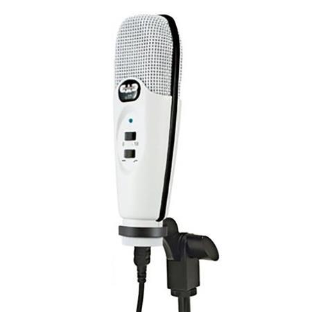 cad audio u37 usb large diaphragm cardioid condenser microphone white u37se w. Black Bedroom Furniture Sets. Home Design Ideas