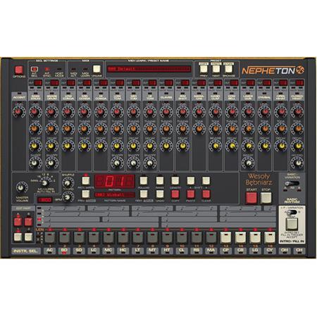 d16 group nepheton drum machine 808 emulator software plug in 11 31186. Black Bedroom Furniture Sets. Home Design Ideas