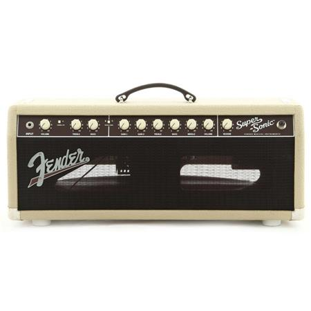 fender super sonic blonde 22 head 120v amplifier 2161000400. Black Bedroom Furniture Sets. Home Design Ideas