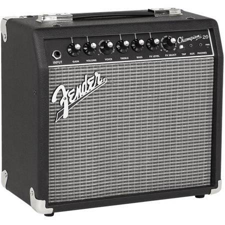 Fender Champion 20 Guitar Combo Amp Review : fender champion 20 guitar amplifier with 8 speaker 2330200000 ~ Vivirlamusica.com Haus und Dekorationen