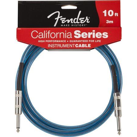 fender 10 39 ca series instrument cable lake placid blue 0990510002. Black Bedroom Furniture Sets. Home Design Ideas