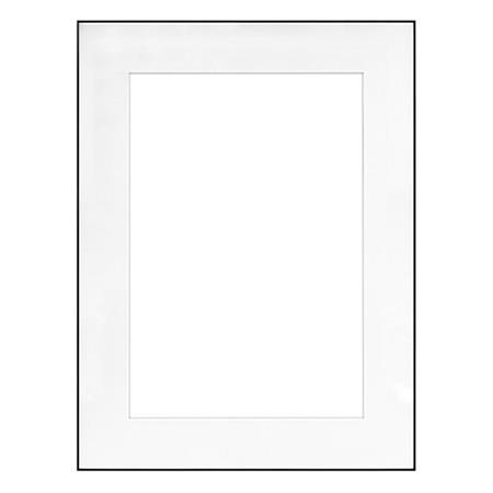 Framatic Fineline 18x24 Quot Aluminum Frame Matted For 12x18
