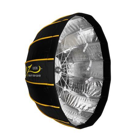 d91ccae4064b83 Glow EZ Lock Collapsible Silver Beauty Dish (25