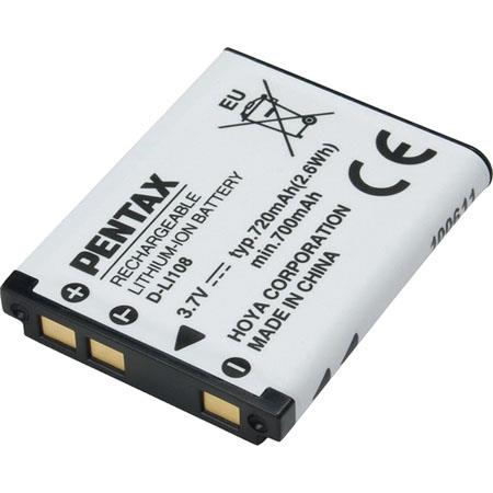 Pentax D-LI108 Lithium-Ion Battery for RS1000 Camera 39071