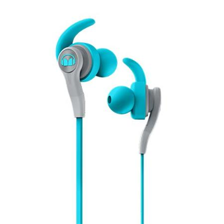 Monster earbuds isport compete - monster earbuds blue