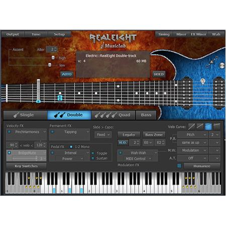 musiclab realeight 8 string electric guitar virtual instrument software download 12 41398. Black Bedroom Furniture Sets. Home Design Ideas