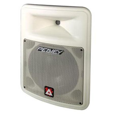 peavey impulse 100 2 way speaker system single white 00483640. Black Bedroom Furniture Sets. Home Design Ideas