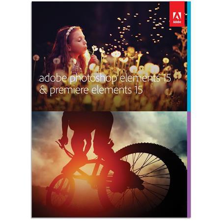 Adobe Photoshop 15 & Premiere 15 Software
