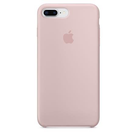 the best attitude 74239 7df13 Apple Silicone Case for iPhone 8 Plus / 7 Plus - Pink Sand