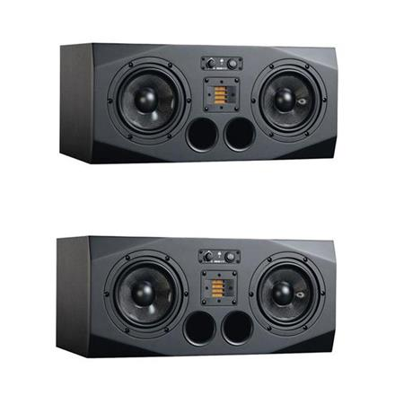 Adam Audio A77X Powered Studio Monitor Left Speaket Bundle