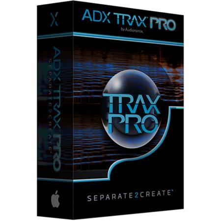 Audionamix ADX TRAX Pro 3 0 Non-Destructive Audio Source Separation  Software, Electronic Download