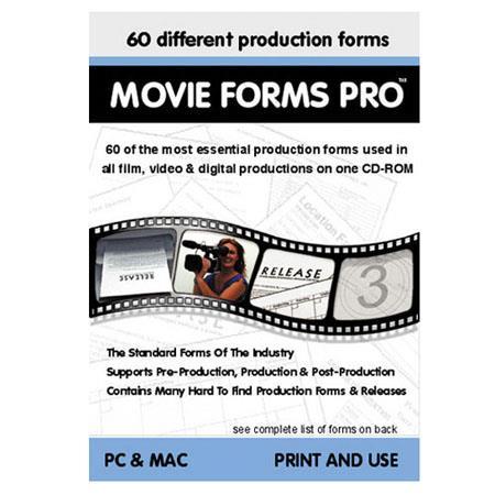 Alan Gordon Enterprises Movie Forms Pro: Picture 1 regular