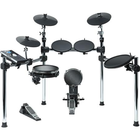 Alesis Command Kit 8-Piece Drum Kit , Includes Command Drum Module, 10