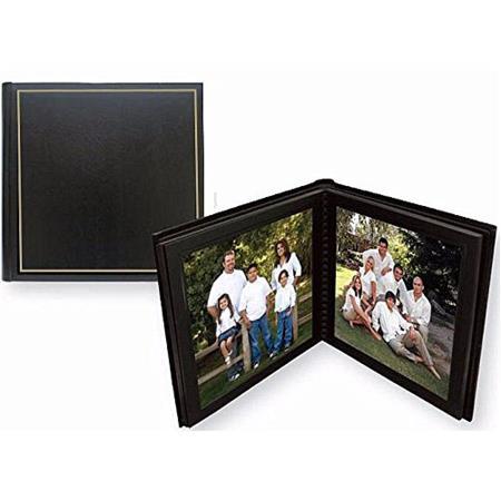Tap Parade 8x10 Slip In Photo Album 10 Pages Blackgold