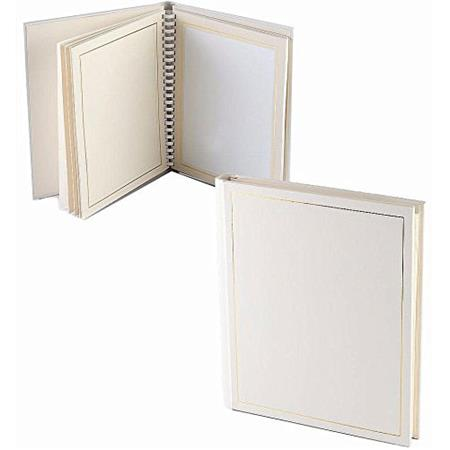 Tap Parade 8x10 Slip In Photo Album 10 Pages White