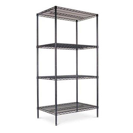 Alera SW503624BL Wire Shelving Starter Kit