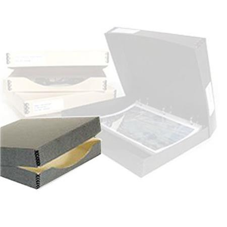 archival methods 3ring binder box 12 25x13 25x1 5in gry 6502