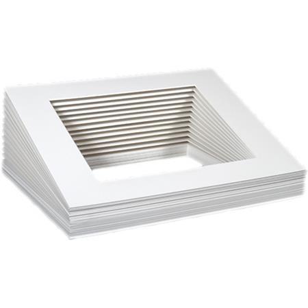archival methods 11x14 pre cut bulk mats 8 5x11 print 25 pack 48