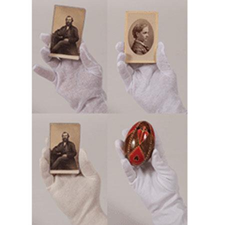 Archival Methods Micro Dot Cotton Gloves: Picture 1 regular