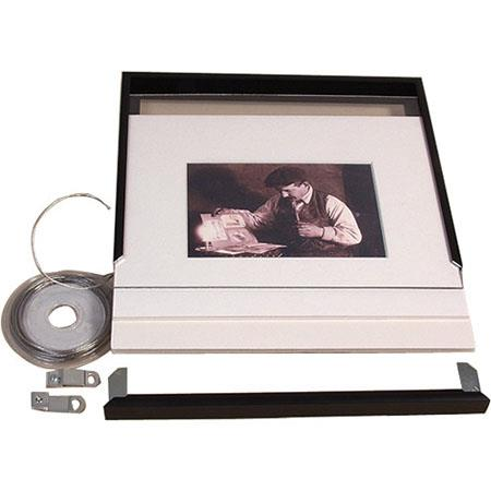 Archival Methods 11x14 Frame Mat Kit F8x10 4 Ply Bright White