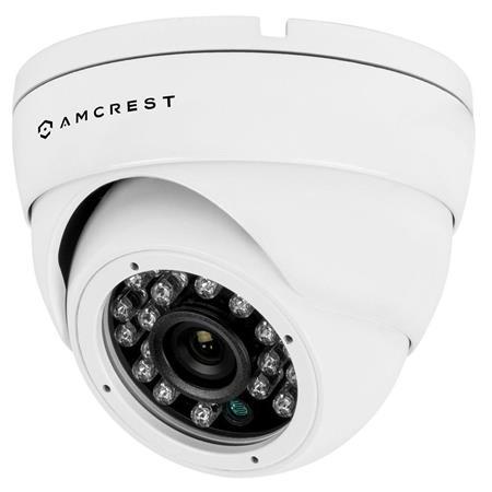 Amcrest 1mp 960h 800 Tvl Outdoor Dome Camera White