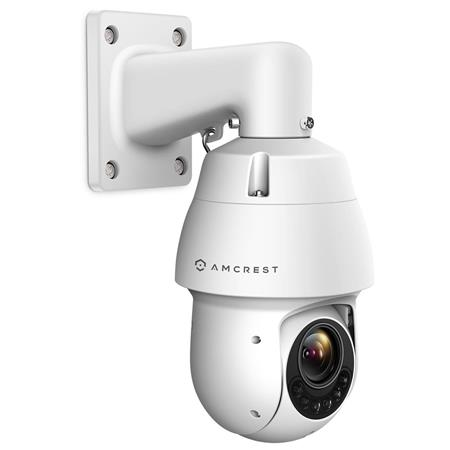 Amcrest ProHD 1080p Wifi Outdoor PTZ IP 2MP Camera Speed Dome, 328' Night  Vision, IP66 Weatherproof, Motorized Zoom, White
