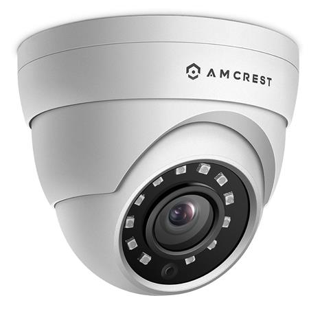 62bded1cc67d Amcrest UltraHD 4MP Outdoor PoE Vendal EyeBall Dome IP Camera with ...