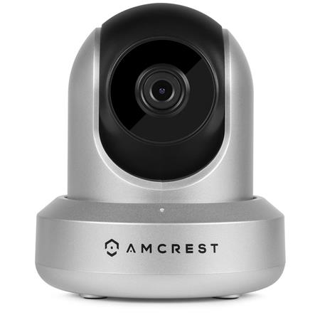 Amcrest IPM-721 1MP 720p Day/Night Video Monitoring Security Wireless IP  Camera, 2 8mm Lens, Silver
