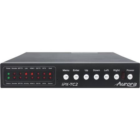 Aurora Multimedia IPX-TC2 HDMI 4K60 4:4:4 over Fiber IP Transceiver